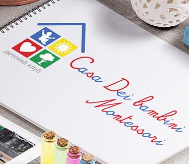 Логотип Сasa dei bambino Montessori
