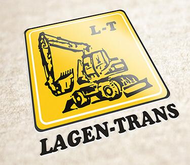 Логотип поставщика з/ч строительной техники LAGEN-TRANS