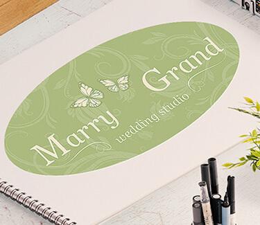 Логотип агентства свадеб Marry Grand