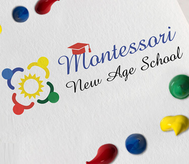Логотип Montessori New Age School