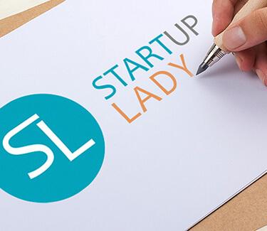 Логотип проекта Startup Lady