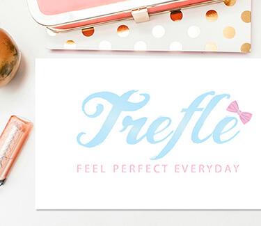 Логотип интернет магазина Trefle