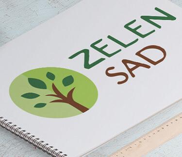Логотип ZelenSad