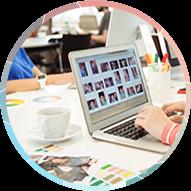 Webstudio Friendly проектирует и выполняет дизайн-макеты всех необходимых страниц сайта