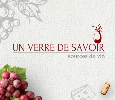 Логотип UN VERRE DE SAVOIR