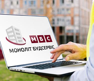 Логотип для МОНОЛИТ БУДСЕРВИС